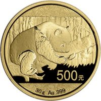 2016 Chinese Pandas Gold Bullion Coins