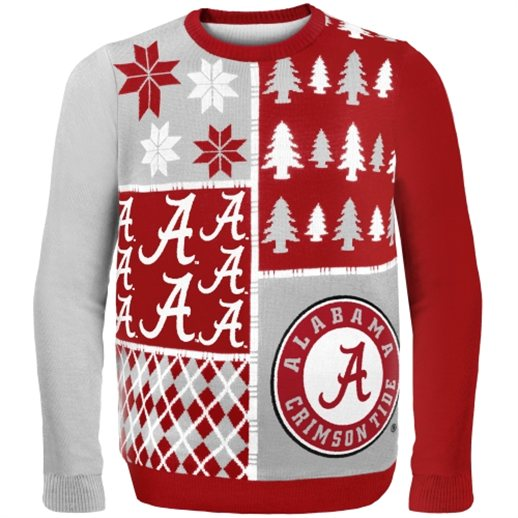 Alabama Crimson Tide Ugly Christmas Sweaters