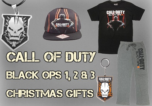 Call of Duty Black Ops Christmas Gifts