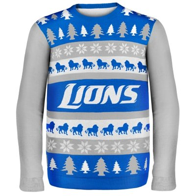 Detroit Lions Ugly Christmas Sweaters