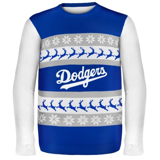 L.A. Dodgers Ugly Christmas Sweaters
