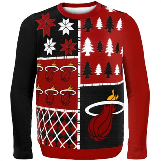 Miami Heat Ugly Christmas Sweaters