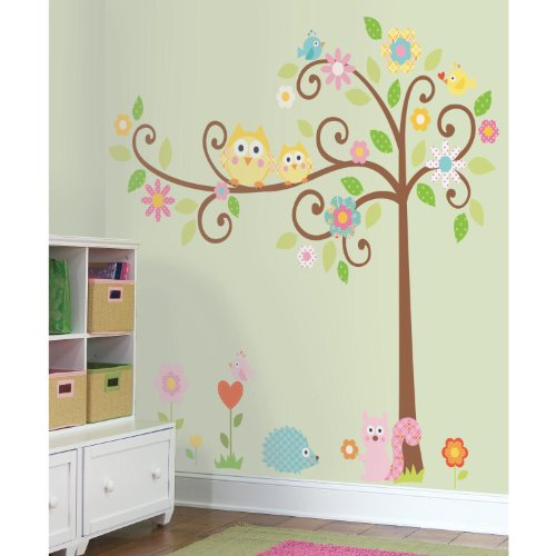 peel and stick nursery room wall decor. Black Bedroom Furniture Sets. Home Design Ideas
