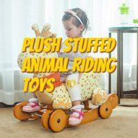 Plush Stuffed Animal Riding Toys