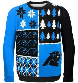 Carolina Panthers Ugly Christmas Sweaters