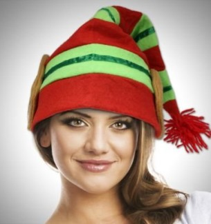 Crazy Christmas Hats Elf, Reindeer, Santa & Much More‎