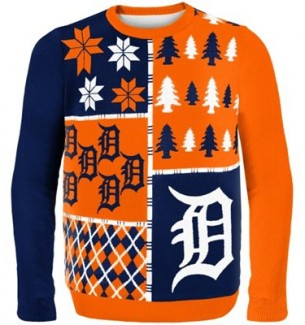 Detroit Tigers Ugly Christmas Sweaters