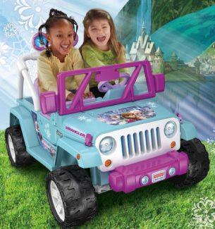 Disney Frozen Power Wheels Ride on Toys