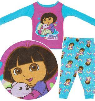 Dora the Explorer Pajamas for Toddler Girls
