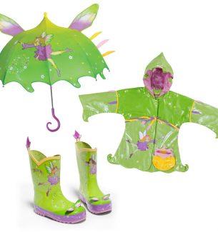 Fairy Rain Gear for Girls