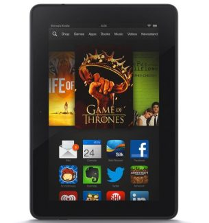 Kindle Fire HDX Tablet for Christmas