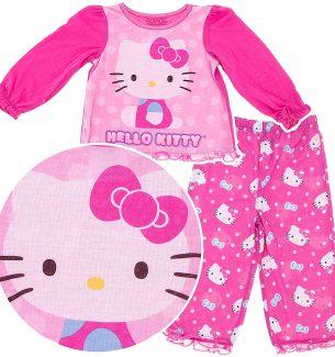 Hello Kitty Pajamas for Toddler Girls