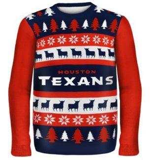 Houston Texans Ugly Christmas Sweaters