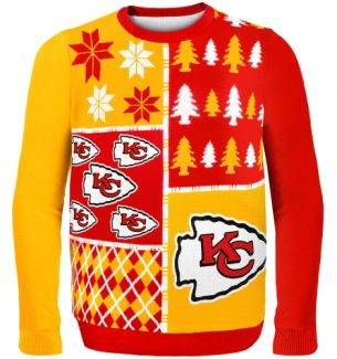 Kansas City Chiefs Ugly Christmas Sweaters