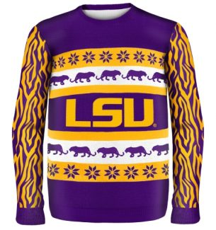 LSU Fighting Tigers Ugly Christmas Sweaters