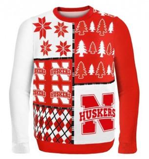 Nebraska Cornhuskers Ugly Christmas Sweaters