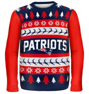 New England Patriots Ugly Christmas Sweaters