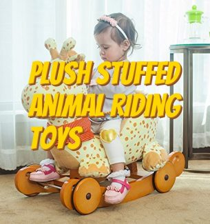 Plush Stuffed Animal Riding Toys