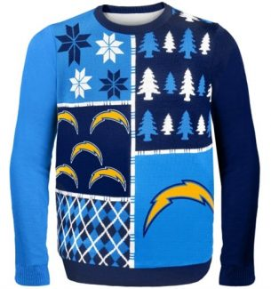 San Diego Chargers Ugly Christmas Sweaters