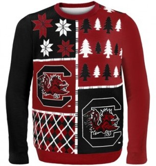 South Carolina Gamecocks Ugly Christmas Sweaters