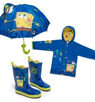 SpongeBob SquarePants Raincoats Boots and Umbrellas