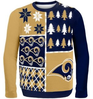 St. Louis Rams Ugly Christmas Sweaters