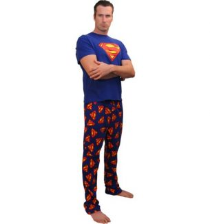 Superhero Pajamas for Adults
