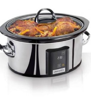 The Touch Screen Crock Pot