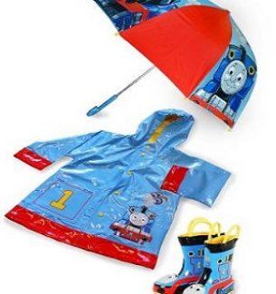 Thomas The Tank Engine Rain Gear For Boys