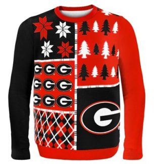 Georgia Bulldogs Ugly Christmas Sweaters