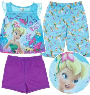 Tinkerbell Pajamas for Toddler Girls