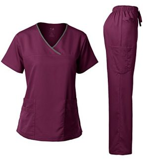 Medical Scrubs Top and Pant Sets