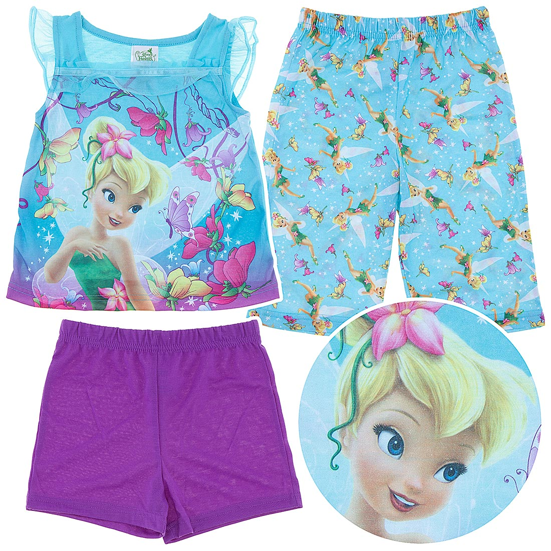 Tinkerbell Pajamas for Toddler Girls