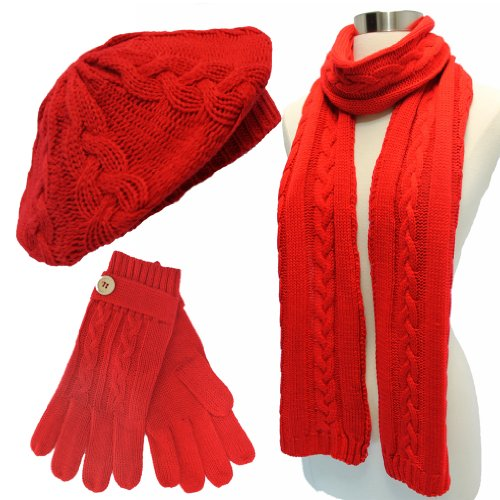 Winter Hat and Scarf Sets for Women