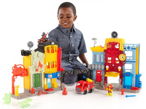 Fisher-Price Imaginext Action Tech City