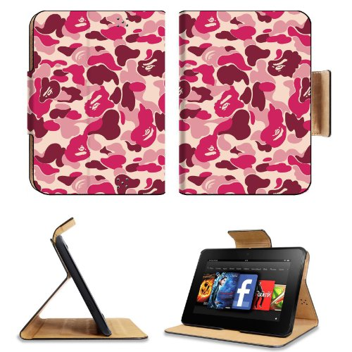 Kindle Fire HD 7 Pink Camouflage Case