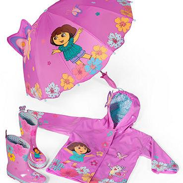 Dora the Explorer Rain Gear