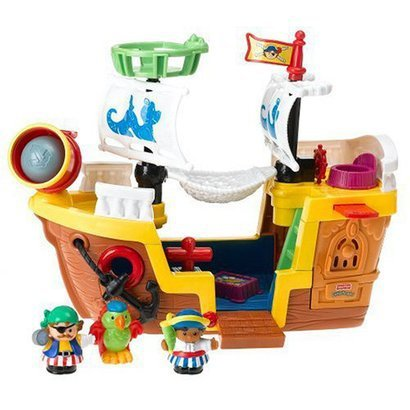 fisher price lil pirate ship christmas gifts for everyone. Black Bedroom Furniture Sets. Home Design Ideas