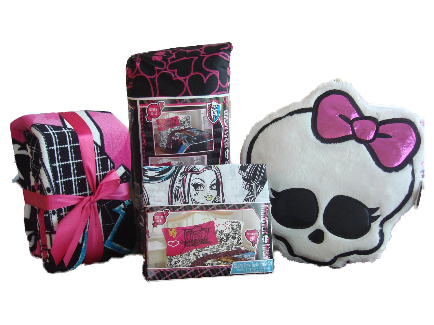 Monster High Comforter Set for Girls