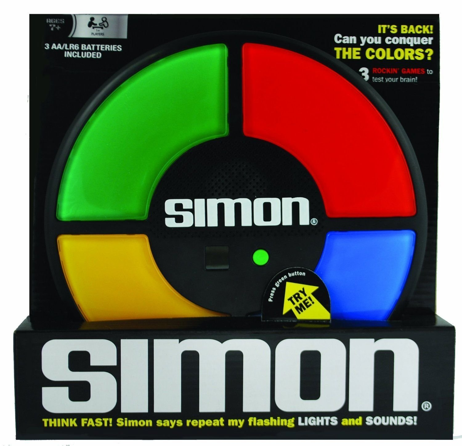 Simon Electronic Game for Memory