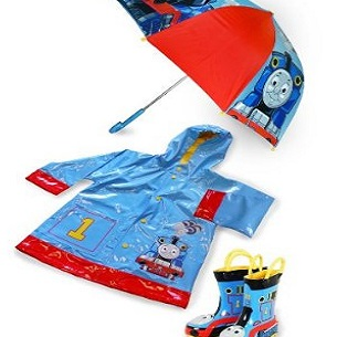 Thomas The Tank Engine Raincoat Boots Umbrella
