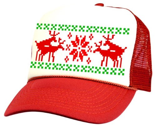 Ugly Christmas Sweater Hats
