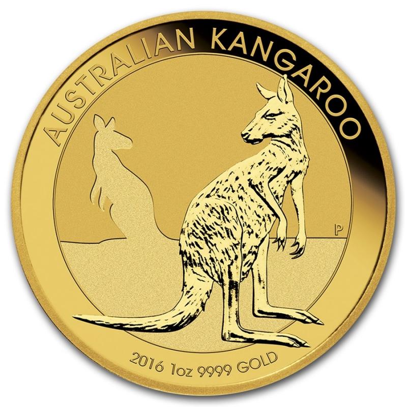 2016 Australia Kangaroo Gold Coins