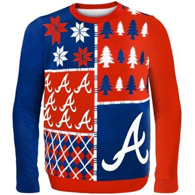 Atlanta Braves Ugly Christmas Sweater