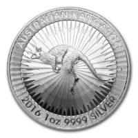 Australian One Ounce Silver Kangaroo Coins