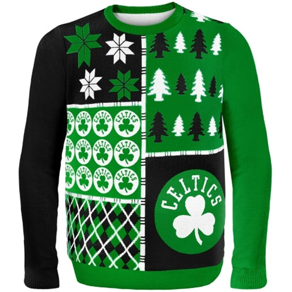Boston Celtics Ugly Christmas Sweaters