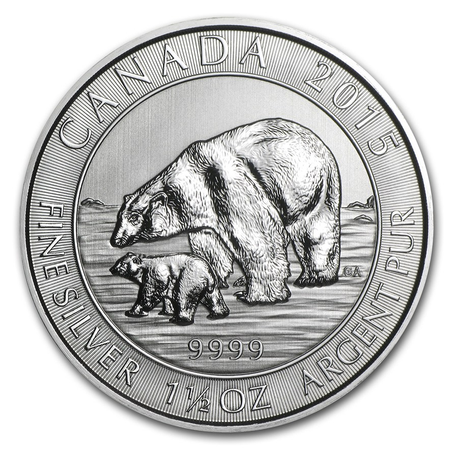 Canadian Silver Coins The Wildlife Series