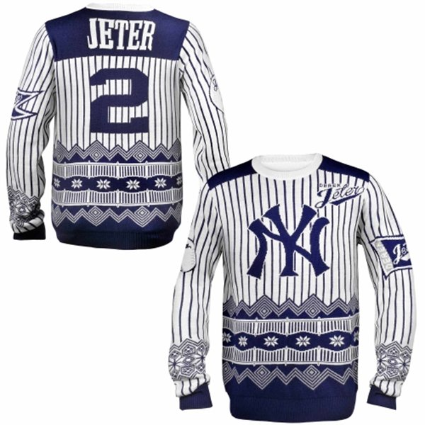 Derek Jeter and NY Yankees Ugly Sweaters