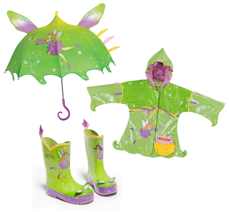 Fairy Rain Gear for Girls