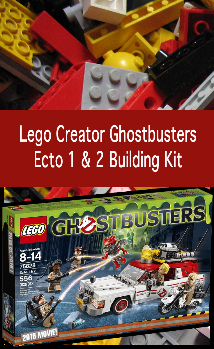 Ghostbusters Lego sets including Ecto-1 & 2, tie in to the 2016 Ghostbusters movie. It includes the Cadillac style Ecto-1, the Ecto-2 Motorcycle, 5 & more!